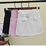 Женские модные шорты с высокой посадкой (в расцветках), фото 4