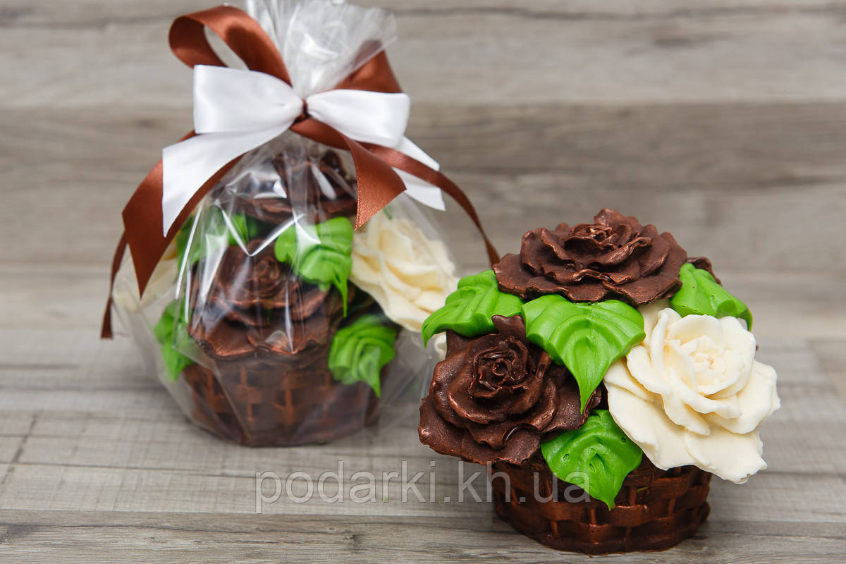 Шоколадный букет Розы