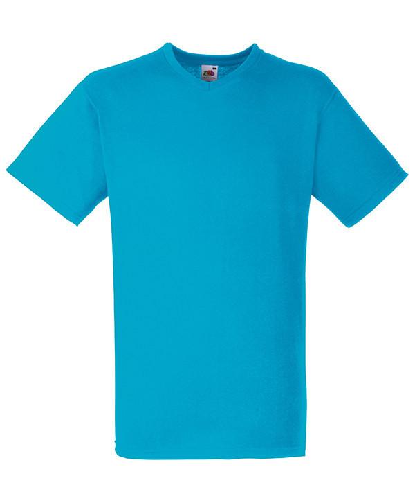 Мужская футболка с v образным вырезом 2XL, ZU Ультрамарин