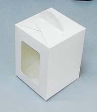 Коробка для пасхи, 140*140*180 мелованная