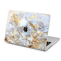 Чехол пластиковый для Apple MacBook (Золотой мрамор) модели Air Pro Retina 11 12 13 15 2015 2016 2017 2018 эпл макбук эйр про ретина case hard cover