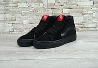 Кеды женские Vans SK8 Hi black
