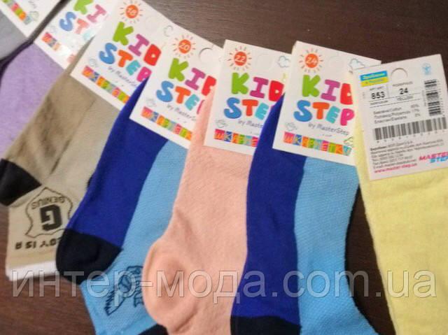 Детские носки . дв. рез. р. 22 арт 853 (Девочка)