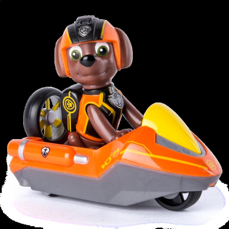 Мини спасательный автомобиль с водителем Зума серии Тайная миссия Paw Patrol (SM16721/9328)
