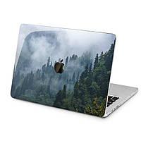 Чехол пластиковый для Apple MacBook (Туманный лес) модели Air Pro Retina 11 12 13 15 2015 2016 2017 2018 эпл макбук эйр про ретина case hard cover
