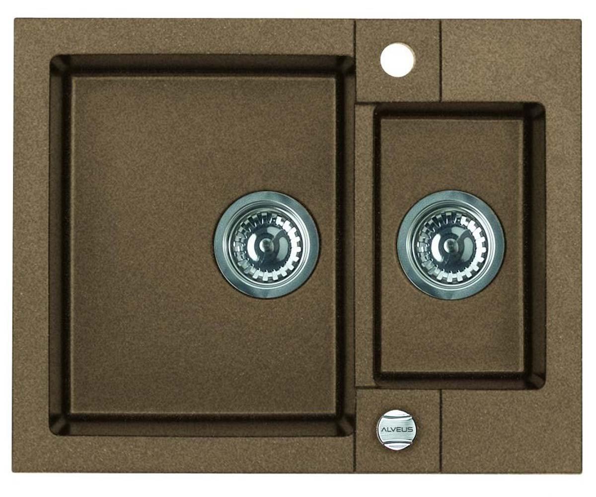 Кухонная мойка Alveus R&R Rock 80 (Granital) (с доставкой)