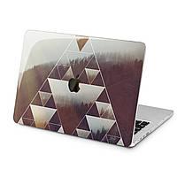 Чехол пластиковый для Apple MacBook (Геометрический лес) модели Air Pro Retina 11 12 13 15 2015 2016 2017 2018 эпл макбук эйр про ретина case hard