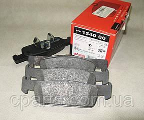 Колодки тормозные передние (вент. диск) Renault Logan 2 (Remsa 1540.00)(среднее качество)