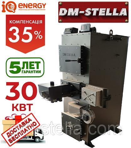 Пеллетный котел 30 кВт DM-STELLA, фото 2
