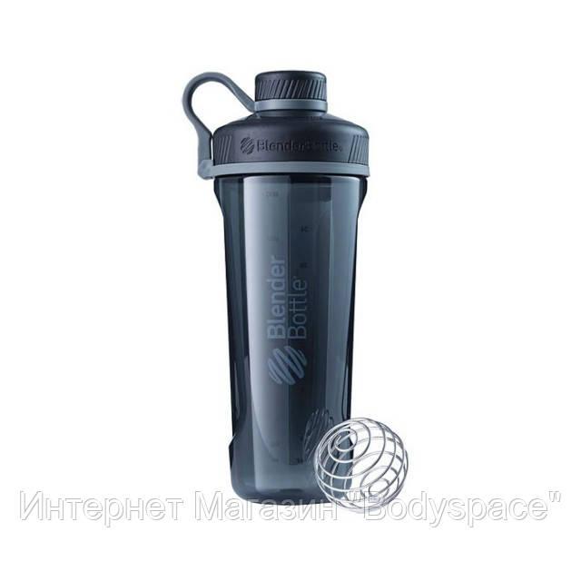 Blender Bottle, Спортивный шейкер-бутылка BlenderBottle Radian Black, 900 мл