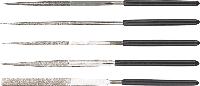 Надфили алмазные, набор 5 шт. 06A000 Topex
