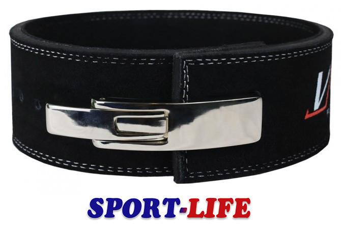 Пояс для тяжелой атлетики VNK LEATHER PRO, размеры S, M, L, XL