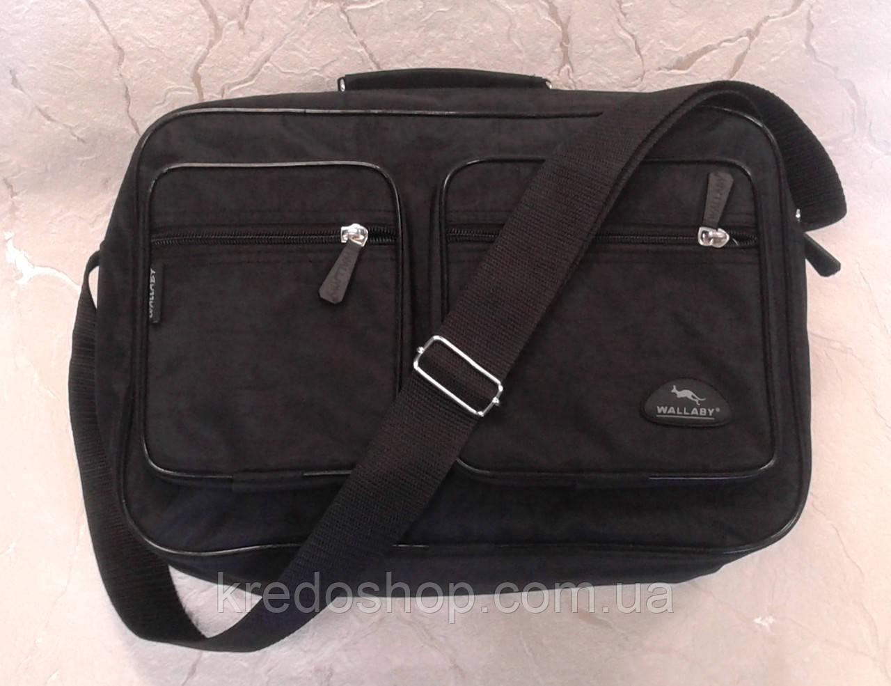 0708c7653f99 Сумка мужская черная из прочного материала (Украина) - Интернет-магазин  сумок и аксессуаров