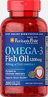 Omega-3 Fish Oil 1200 mg (360 mg Active Omega-3)200 Softgels