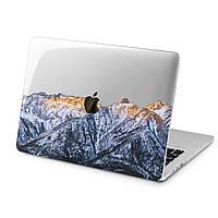 Чехол пластиковый для Apple MacBook (Снежные горы) модели Air Pro Retina 11 12 13 15 2015 2016 2017 2018 эпл макбук эйр про ретина case hard cover