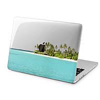 Чехол пластиковый для Apple MacBook (Пальмовый пляж) модели Air Pro Retina 11 12 13 15 2015 2016 2017 2018 эпл макбук эйр про ретина case hard cover