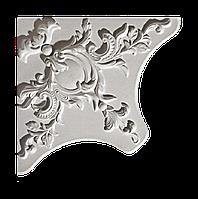 Гипсовая лепнина декоративный угол у-17 h360х360мм
