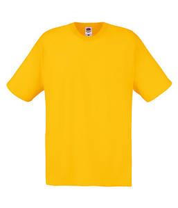 Мужская футболка S, 34 Солнечно Желтый