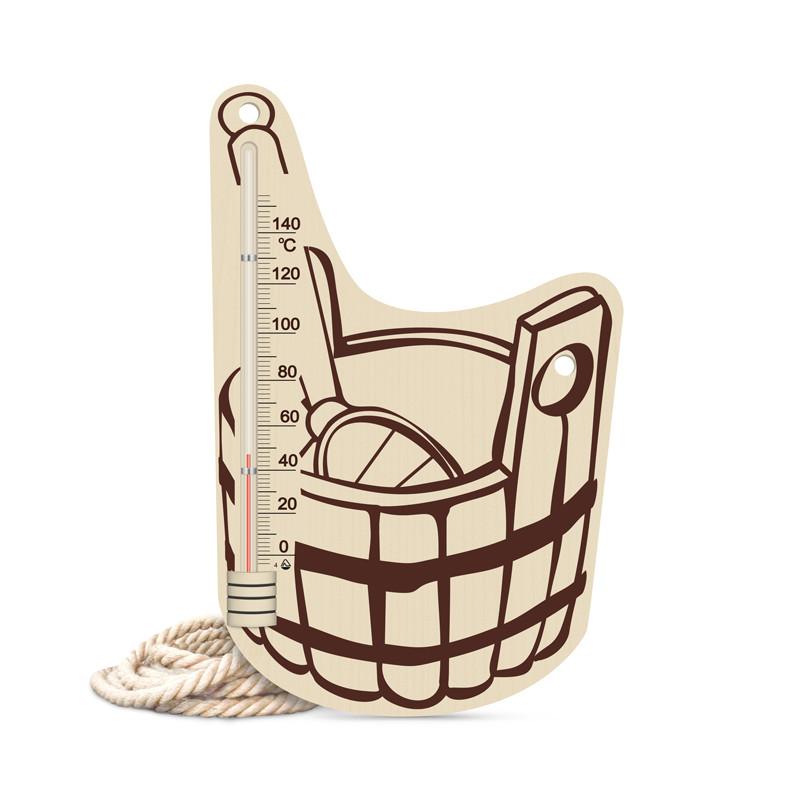 Термометр для бани исп.7 (шайка), Saunapro