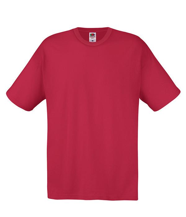 Мужская футболка M, BX Кирпично-Красный