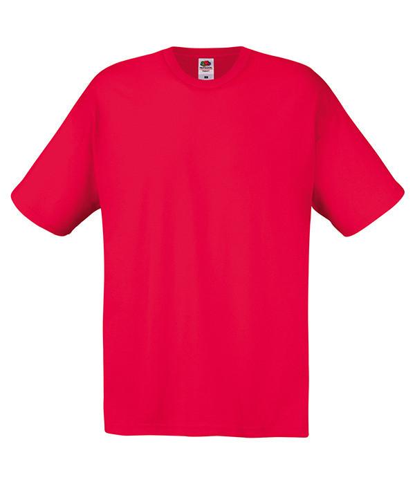 Мужская футболка L, 40 Красный