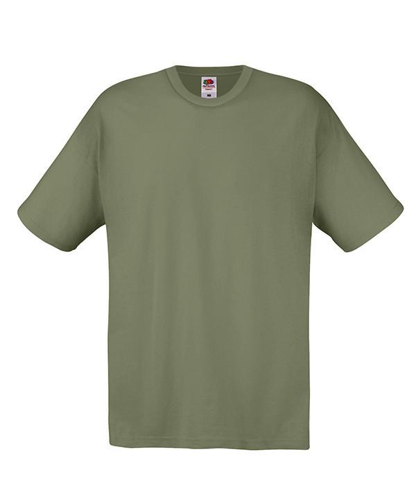 Мужская футболка L, 59 Оливковый