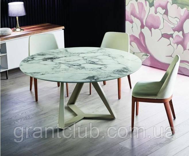 Круглый обеденный стол MILLENNIUM 150 см BONTEMPI CASA (Италия)