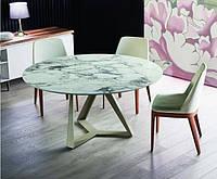Круглый обеденный стол MILLENNIUM 150 см BONTEMPI CASA (Италия), фото 1