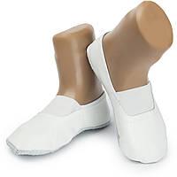 Чешки белые кожаные, фото 1