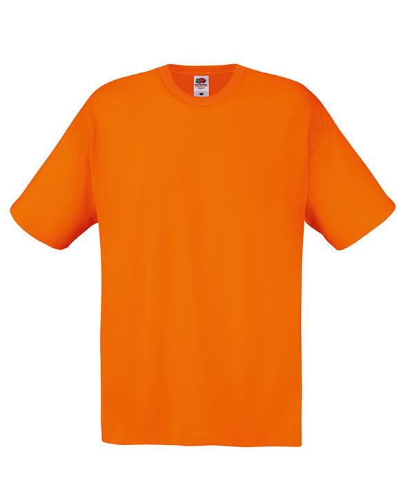 Мужская футболка XL, 44 Оранжевый