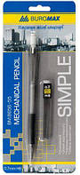 Карандаш механическийSIMPLE + сменные грифели, 0.7 мм, в блистере (BM.8656-55)