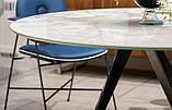 Круглый обеденный стол MILLENNIUM 150 см BONTEMPI CASA (Италия), фото 3