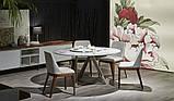 Круглый обеденный стол MILLENNIUM 150 см BONTEMPI CASA (Италия), фото 4