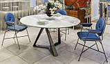 Круглый обеденный стол MILLENNIUM 150 см BONTEMPI CASA (Италия), фото 6