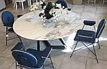 Круглый обеденный стол MILLENNIUM 150 см BONTEMPI CASA (Италия), фото 5