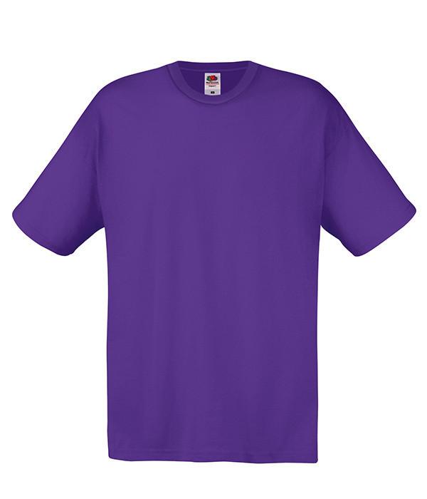 Мужская футболка 2XL, PE Фиолетовый