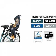🔥✅ Детское велокресло Tilly T-821 для детей с установкой позади сиденья