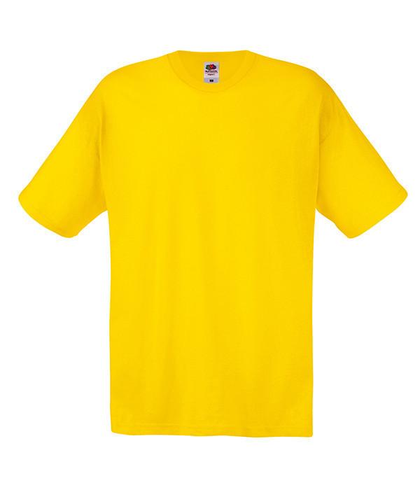 Мужская футболка L, K2 Желтый