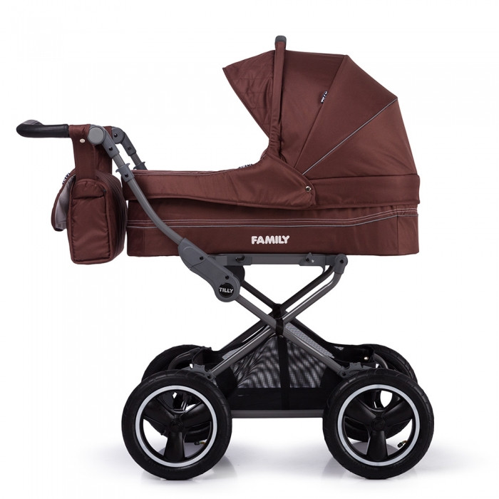 🔥✅ Kоляска прогулочная TILLY Family T-181 Brown