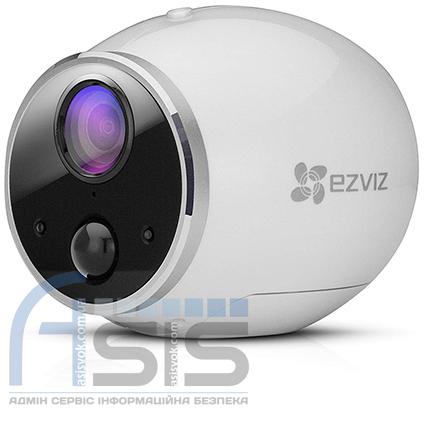 1 Мп Wi-Fi камера на батарейках EZVIZ CS-CV316, фото 2