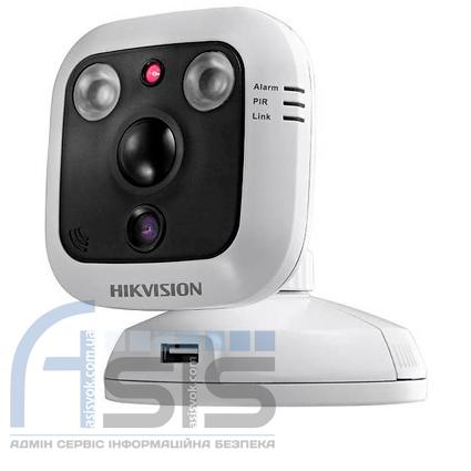 1.3МП IP видеокамера Hikvision c PIR датчиком DS-2CD2C10F-IW (4мм)