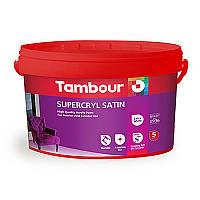 Акриловая краска Tambour (Тамбур) Supercryl Satin (Суперкрил Сатин), 1 литр