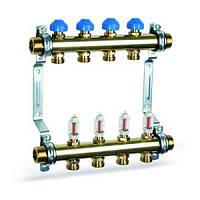 Коллектор для теплого пола Watts HKV 2013A MS10 с расходомерами