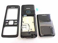Корпус Nokia 6300 черный High Copy