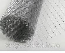 Сітка для штукатурки просічно-витяжна д. 0.8 17х40 (10м)