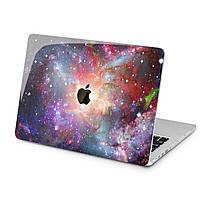 Чехол пластиковый для Apple MacBook (Красочный космос) модели Air Pro Retina 11 12 13 15 2015 2016 2017 2018 эпл макбук эйр про ретина case hard cover