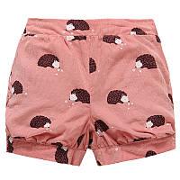 Детские хлопковые шорты для девочки Ёжики Jumping Beans