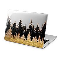 Чехол пластиковый для Apple MacBook (Золотой лес) модели Air Pro Retina 11 12 13 15 2015 2016 2017 2018 эпл макбук эйр про ретина case hard cover