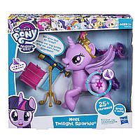 Интерактивная говорящая пони Твайлайт Спаркл My Little Pony Hasbro E2585, фото 1