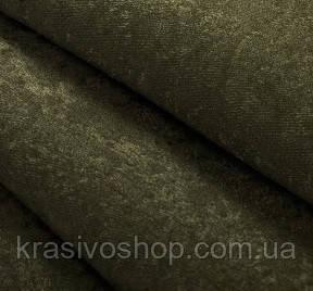 Ткань для штор софт болотный